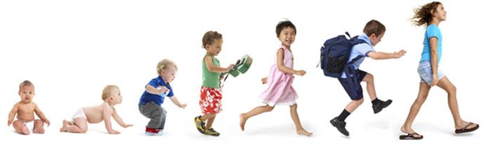 Vývojové fáze dítěte a jejich zvláštnosti